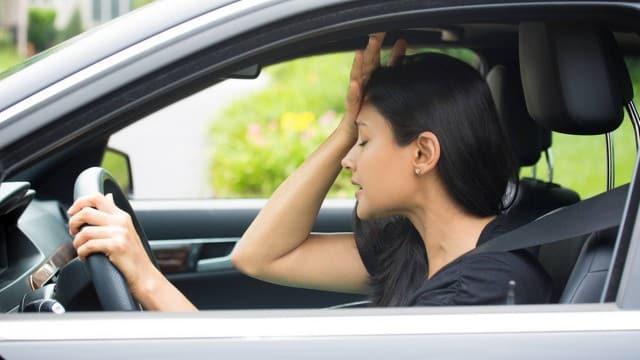 teste tipo motorista estressada