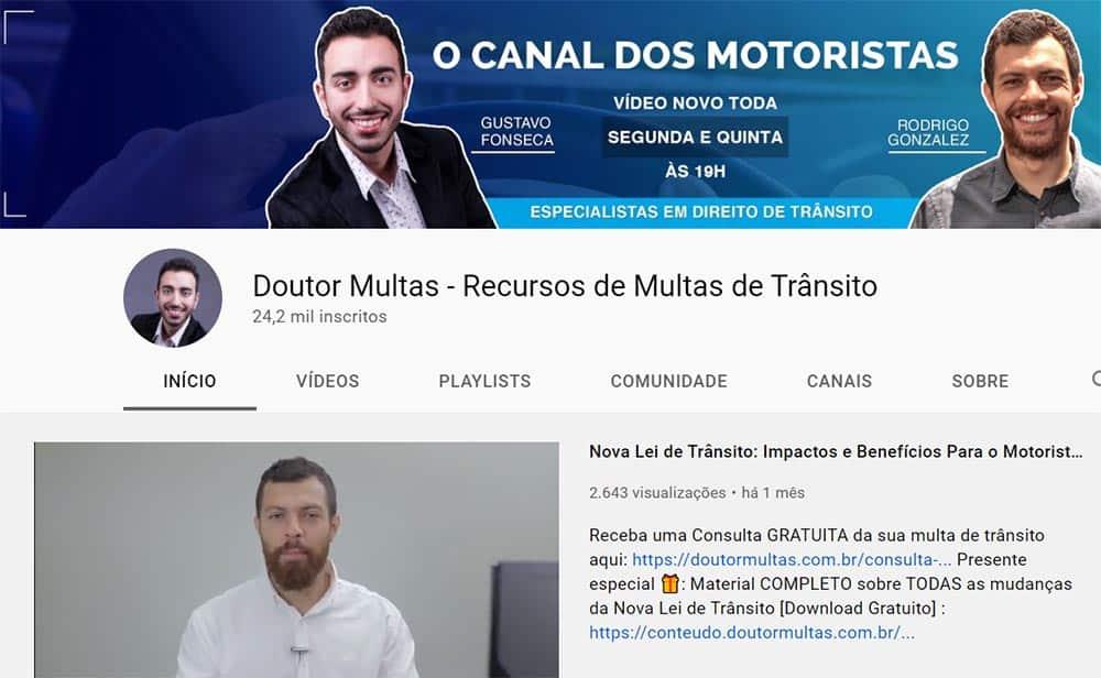 codigo transito youtube
